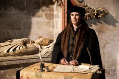 'Wolf Hall,'-Mark Rylance as Thomas Cromwell-Simply Ambition, and Court politics, and the first episode had me thinking, 'Yes, this rings true to me'.