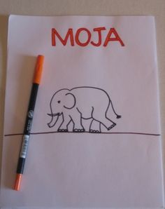 In this activity, your child will make her own book of Swahili numbers filled with pictures of animals found throughout Africa.