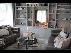 Home Office Design, House Design, Shelf Inspiration, Ikea Hack, Bookcase, Shelves, Living Room, Interior Design, Diy
