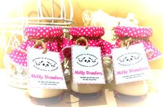 Coming Soon... Annie's Pudding milky strawberry..