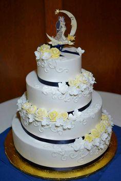 buttercream roses wedding cake - Google Search