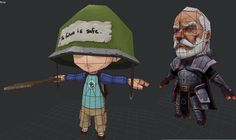 Nice Drawlins: 3D Characters