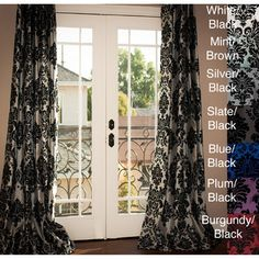 AT HOME by O -Venetian Grommet Top 84-inch Curtain Panel