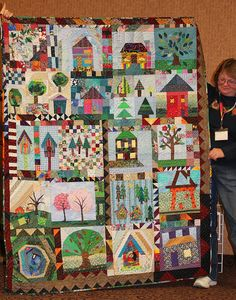 Diane's Home Sweet Home Quilt | Flickr - Photo Sharing!