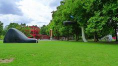 """Claes Oldenburg Paris Parc de La Villette """"Buried Bycicle""""   Flickr - Photo Sharing!"""