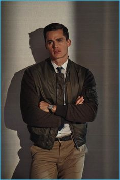Pietro Boselli graces the pages of GQ Italia with a story that takes a cinematic slant on everyday style. Outfitted by stylist Nicolo Russian, Pietro channels the iconic looks of Tom Cruise in Top Gun and Richard Gere in American Gigolo. Sporting fine suiting and military-inspired outerwear, the Italian model is photographed by Tim Clark....[ReadMore]