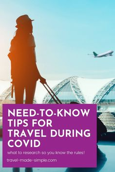 Traveling right now is full of extra hurdles. Before you book a flight, check out these tips for traveling during COVID-19 so you know what to research and what the rules are for visiting other countries. Air Travel Tips, Travel Advice, Vacation Destinations, Dream Vacations, International Travel Tips, Best Luggage, Short Break, Hurdles, The Hard Way