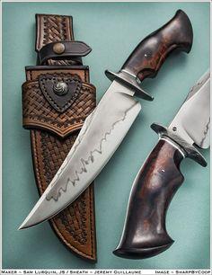 bladeshow sheath for Sam Lurquin knife