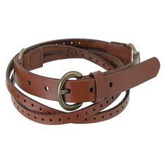 Muji pnching belt with 2 belts