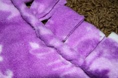 I first saw this blanket at work, one of my patients in recoveryhad one. Poor little girl, I about attacked her (half asleep from anesthsi...