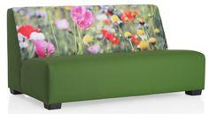 Loungebank Flowers