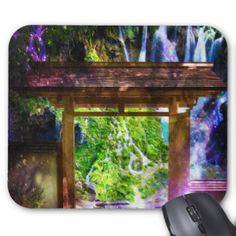 Rainbow Universe's Pathway to Paradise Mouse Pad
