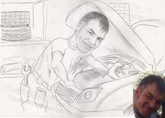 Шаржи, портреты. Мастер Деменчук Оксана +79501449910  www.yindividuality.ru