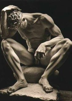 mein-fuehrer: Der Verwundete (The Wounded) by Arno Breker Art Sculpture, Stone Sculpture, Clay Sculptures, Art Of Man, Gay Art, Life Drawing, Figurative Art, Oeuvre D'art, Art Forms