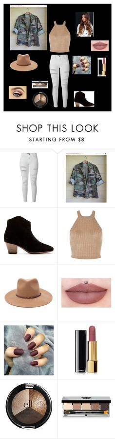 """Sin título #71"" by yefiny-10 on Polyvore featuring moda, Frame Denim, Isabel Marant, Forever 21, Chanel y Bobbi Brown Cosmetics"