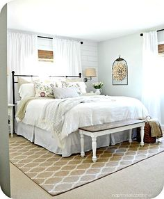 74 Incredible Cozy Farmhouse Master Bedroom Ideas | Http://www ...