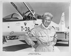 During her aviation career, from the 1930s through the 1960s, Jacqueline Cochran (d. 1980) set more speed and altitude records than any contemporary pilot, male or female, and was the first woman to break the sound barrier.