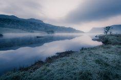 Glencar Lough. - Frosty Morning at Glencar Lough in Co.Lietrim, Ireland.