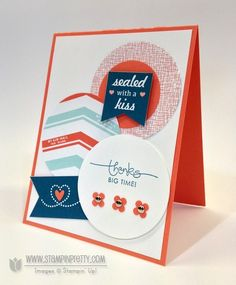 sent with love - stampin' up!