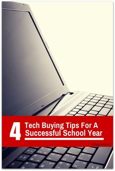 Looking to purchase new technology for your student to ensure a successful school year? 4 Tech Buying Tips New Technology, Back To School, Budgeting, About Me Blog, Geek Stuff, Parenting, Success, Teen, Student