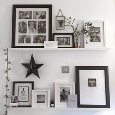 Image result for photo ledge ideas