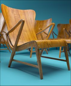 Carl Axel Armchair 1950´s by SHD , via Behance