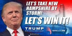 The TRUMP Report - New Hampshire Primary Today