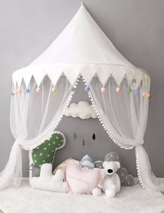 Nordic Ideas Tent for Toddler Bed Teepee Sky Bed with Mosquito Net Curtain Bed Baby Girl Decoration &; Nordic Ideas Tent for Toddler Bed Teepee Sky Bed with Mosquito Net Curtain Bed Baby Girl Decoration &;