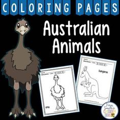 Your Students Will Adore These 18 Pages With Australian Animals Coloring Also Come