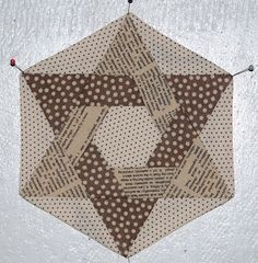 Fantastic star tutorial from Lynne of Lily's Quilts.