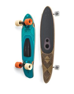 Bluetooth-enabled speakers were built right into the deck of these new skateboards. More on the blog: http://designythings.com/2016/01/05/boombotix-globe-introduce-worlds-first-bluetooth-enabled-speaker-skateboard/