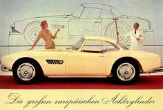 1956 BMW 507 only 252 vehicles made