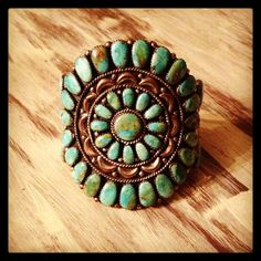 One of my most favorite cuffs for Turquoise Tuesday.