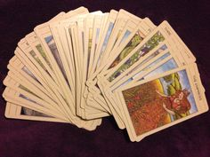 My Mythic Tarot deck published 1986 and my first ever deck!
