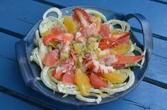 Salade de homard agr