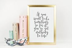 ONE DIRECTION QUOTE Girls Room Decor Gift For Friend by TypoHome
