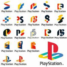 6fe49e56310 Original concept designs for the PlayStation Logo