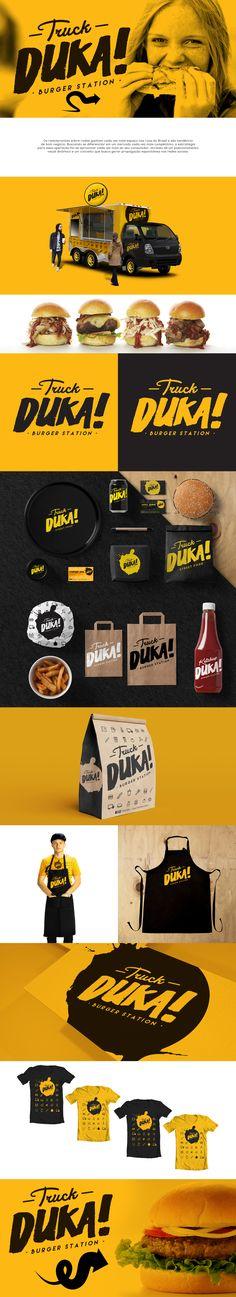 Duka Burger Station Branding