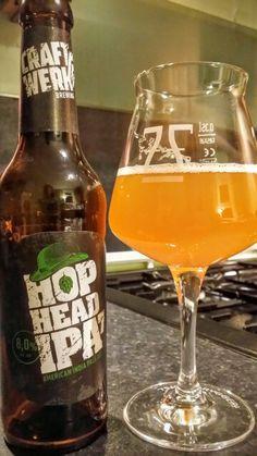 CraftWerk Hop Head IPA 7. Watch the video beer review here…