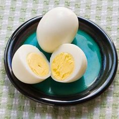 Perfectly easy to peel hard boiled eggs! I can hardly get eggs right! Can't wait to try
