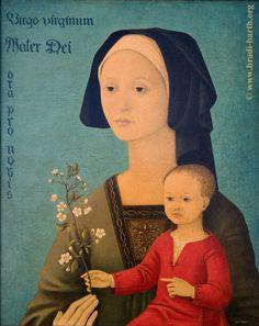 Stunning Marian art by a devout Belgian artist.