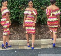 Flattering Ankara Short Gowns Styles for Cute Ladies.Flattering Ankara Short Gowns Styles for Cute Ladies African Fashion Designers, African Dresses For Women, African Print Dresses, African Print Fashion, Africa Fashion, African Attire, African Wear, African Fashion Dresses, African Women