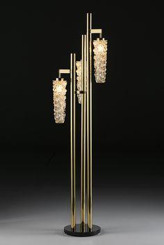 Floor Lamp Gallery Collection by Mariner - Web 2020 Best Site Botanical Interior, Luxury Flooring, Luxury Lighting, Venetian Glass, Lamp Design, Ceiling Lamp, Light Decorations, Luxury Furniture, Floor Lamp