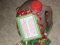 Here are 24 quick, easy, cheap Christmas gift Ideas for friends, neighbors, bus drivers, and teachers. Simply attach one of these cute sayings or poems to the item to make a more thoughtful gift!