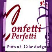 Confetti Perfetti Tutto per il Cake design e la decorazione con la pasta di zucchero a Roma e Online. Da noi puoi trovare centinaia di prodotti delle migliori marche a prezzi molto convenienti.Creiamo anche bomboniere esclusive sia confezionate che fai da te con moltissime idee di realizzazione.