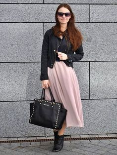 27 How to wear nude skirt