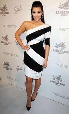 Sukienka asymetryczna MONOCHROM Kardashian