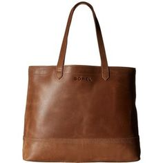 SOREL Leather Tote (Elk) Tote Handbags