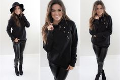 Double Button Hoodie  Enjoy 3 different colors of the BEST hoodie!  54% OFF