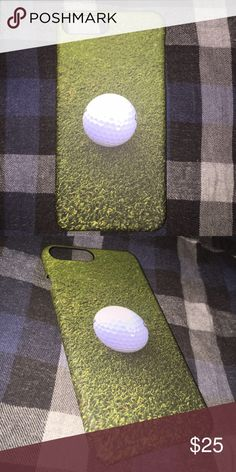 Golf ball iphone 6 plus case Golf ball on grass design iphone 6 plus phonecase. Great collection for golf lovers. 3D printing. Durable hard phonecase. Used for a week. No flaws. Accessories Phone Cases